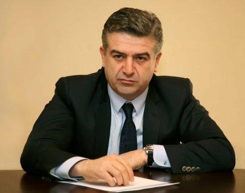 Armenia -- Yerevan's Mayor Karen Karapetyan, Yerevan