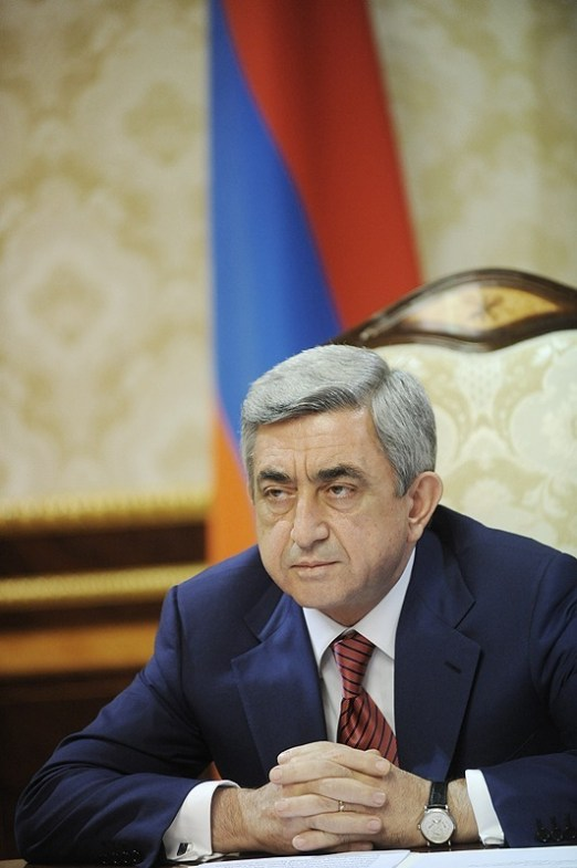Armenia -- President Serzh Sargsyan, Yerevan, December 2012 | Photo from President's official website www.president.am