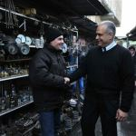 Raffi Hovhannisian campaigns in 2013 Presidential Elections by Meeting People on the Streets