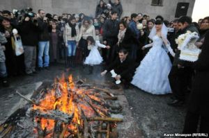 Tearnyndaraj -- Feast of the Presentation of our Lord Jesus Christ and Blessing Day of Newlyweds