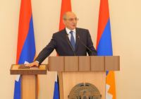 King Bako Sahakian of Artsakh Inaugurated