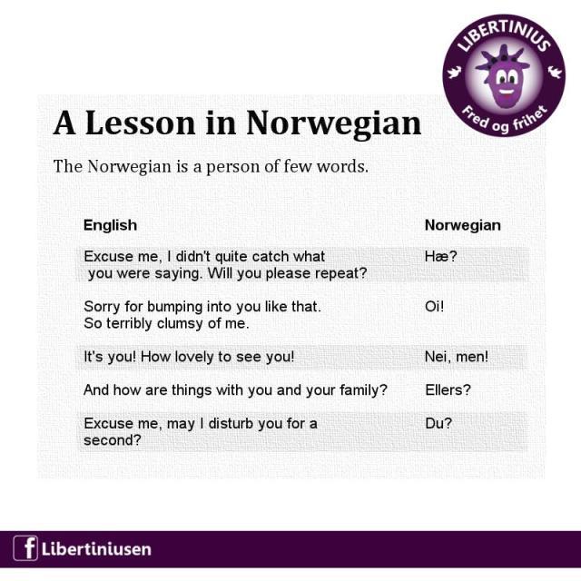 Norsk snakk