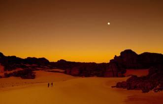 ørkenliv måne