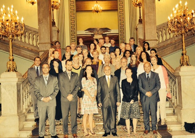 The Minister of tourism in Egypt og vi andre
