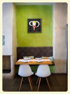 Fargerikt og stilig interiør