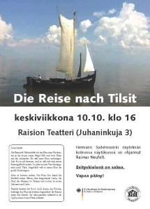 Raisio Plakat Kultur Verein