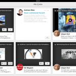 Darstellung der G+ Inhalte auf dem iPad