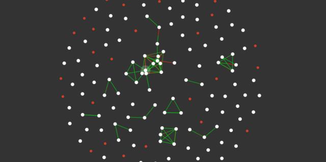 Darstellung eines Mesh-Netzwerks