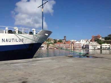 E/V Nautilus in port in St. George's in Grenada. Photo credit: Diva Amon