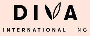 Diva International Inc Logo black