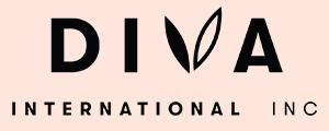 Diva International Inc Logo black