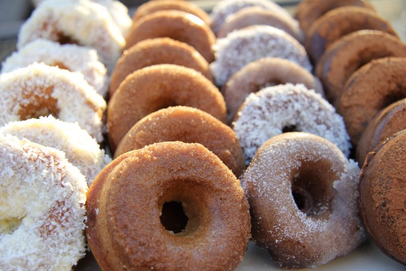Cinnamon Donuts (Coconut Flour)