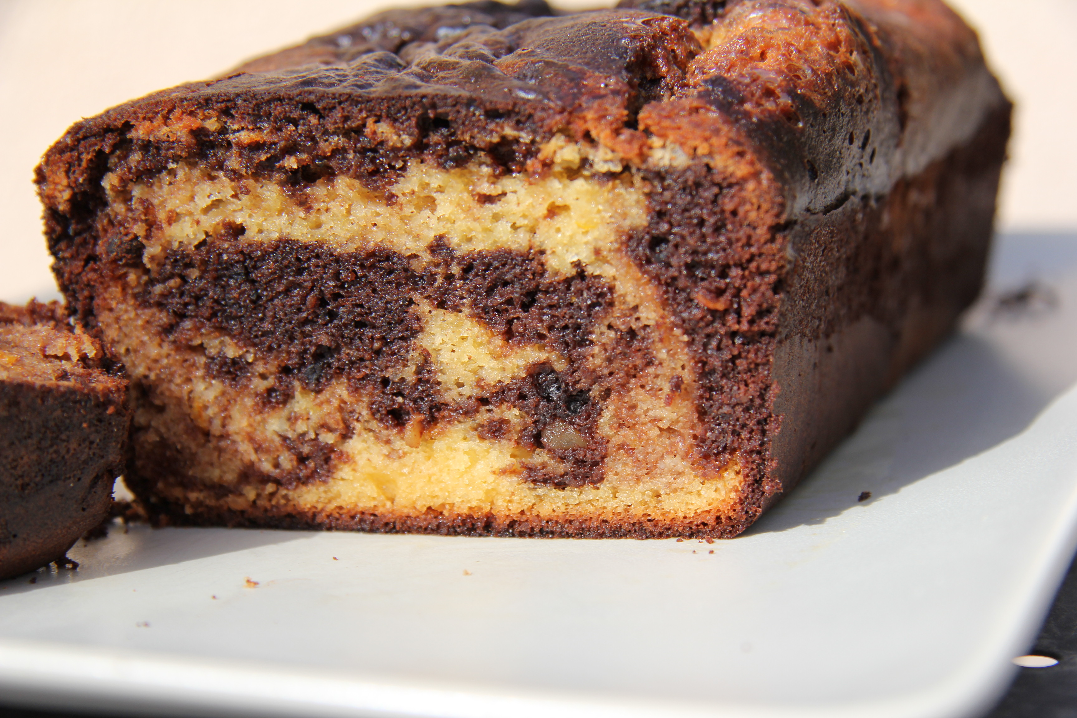 how to make marble cake with chocolate cake mix