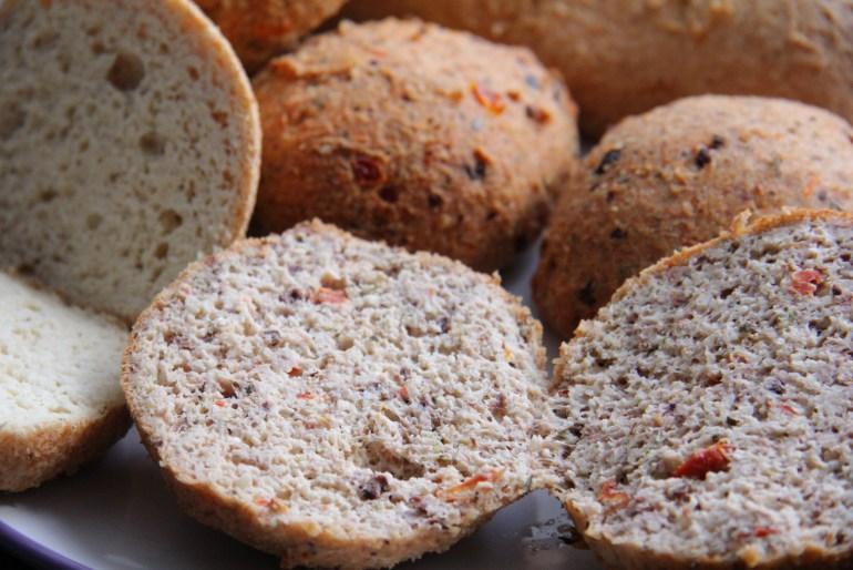 Almond bread rolls