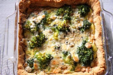 Delicious gluten free quiche