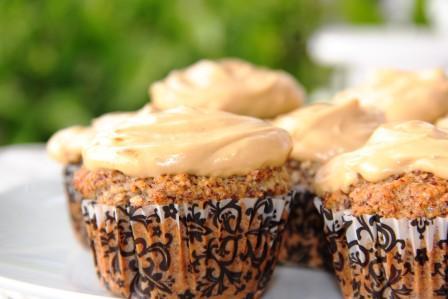 hazelnut flour muffins