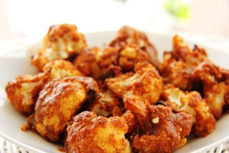 spicy peanut cauliflower