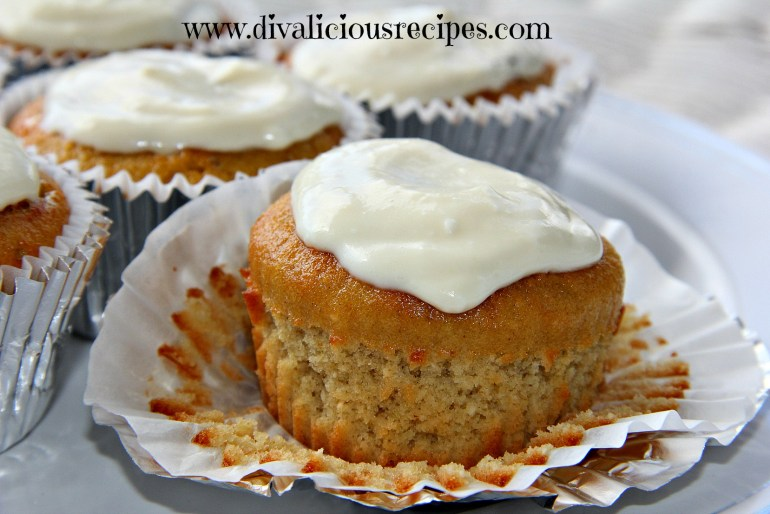 Ginger and lime muffin