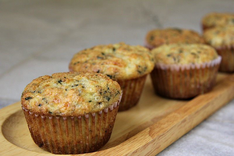 Halloumi savoury muffins