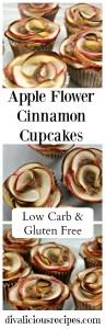 Apple Flower Cinnamon Cupcake
