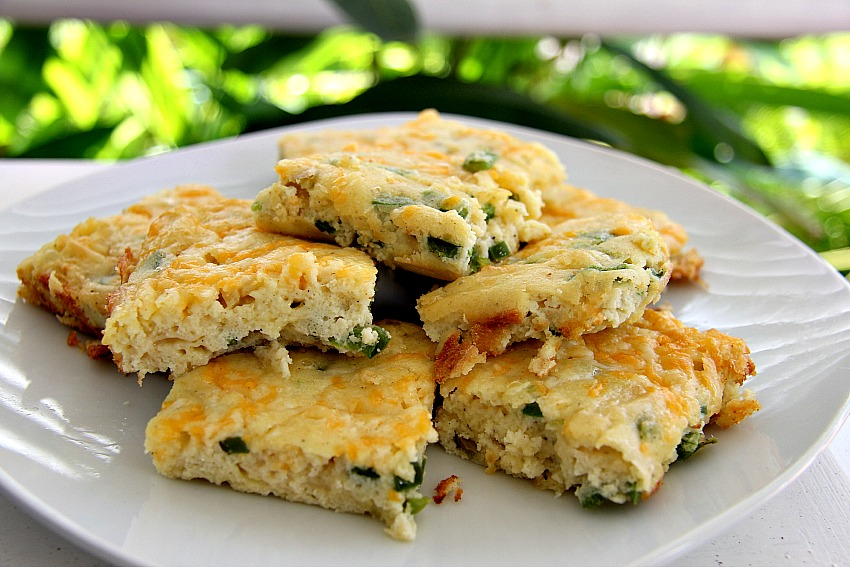 Cheese & Jalapeno Bread  Low Carb