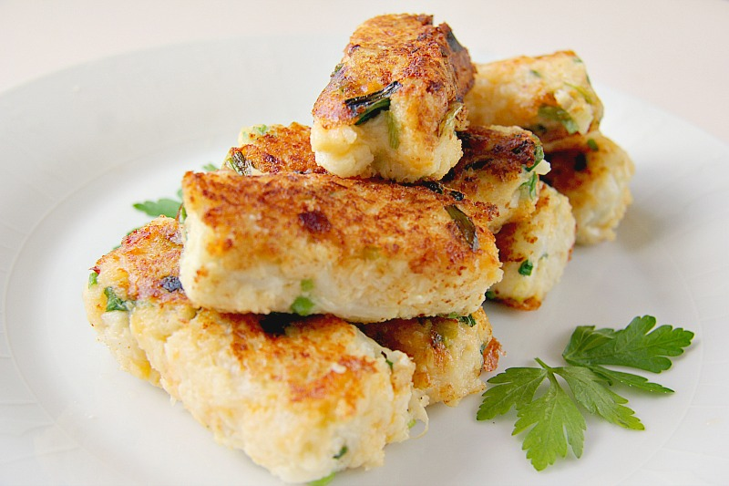 Cauliflower Cheese & Onion Croquettes
