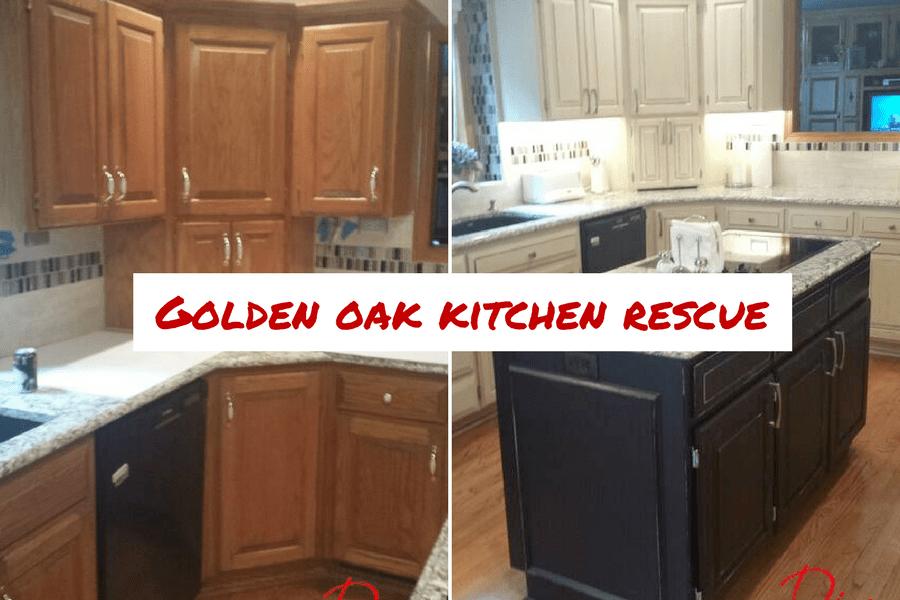Golden Oak Kitchen Rescue Diva Of DIY