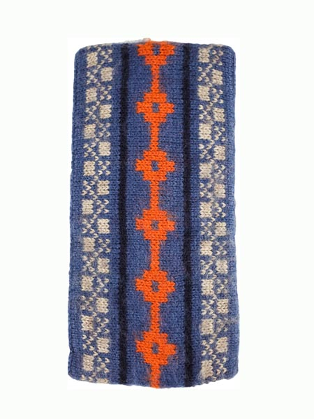 Aymara Ear Warmer, Steel, Alpaca Blend, winter Headbands for the whole family