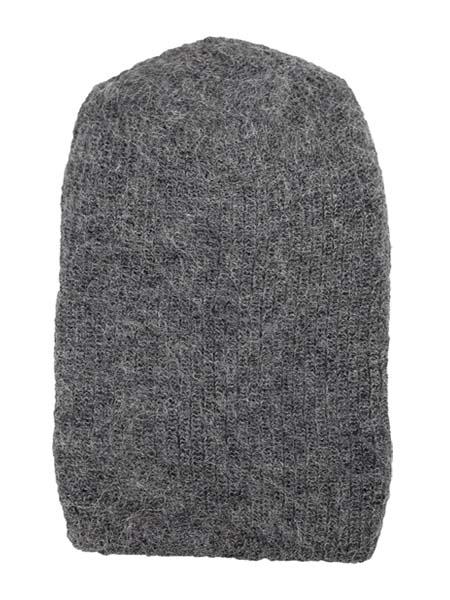 Milkshake Hat 100% Alpaca, Grey, winter Hats for the whole family