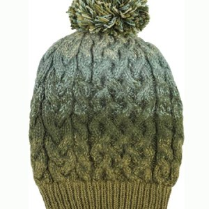 PomPom Hat, Olive, Alpaca Blend, winter Hats for the whole family