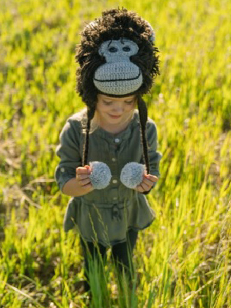 Kids Animal Winter Hats