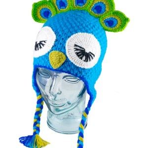 Animal Kids Peacock Hat