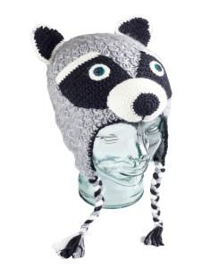 Animal Kids Raccoon Hat