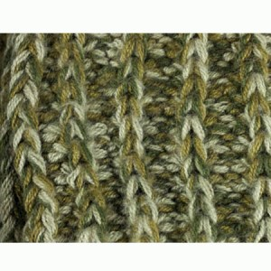 Classic Scarf Alpaca Blend, Olive, Chunky, Unisex winter Scarves for the whole family