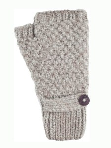 Button Wrist Warmer, Ash Alpaca Blend, winter wrist warmers for the whole family