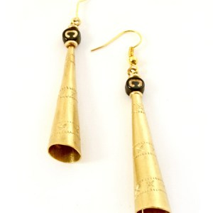Kenyan jubilation earrings