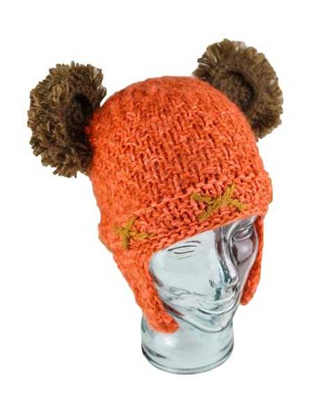 Kids Cave Bear Hat