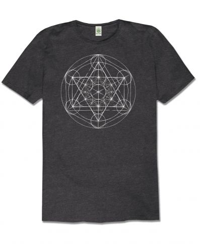 METATRON'S CUBE RECYCLED T-SHIRT