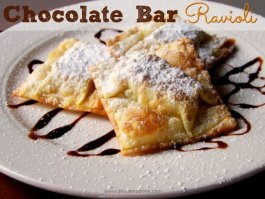 Chocolate Bar Ravioli