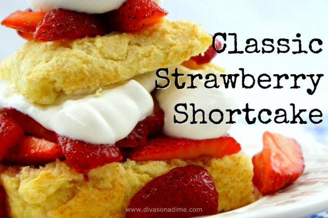 There's nothing better than this classic strawberry shortcake. Easy, good proof, delicious!