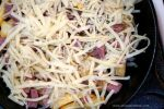 Irish Nachos Layer 3 - Shredded Swiss Cheese
