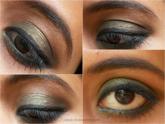 Inglot Refill Eye Shadow in Pearl 418: Review, Swatch and EOTD