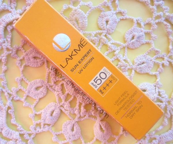 sunscreen, Lakme