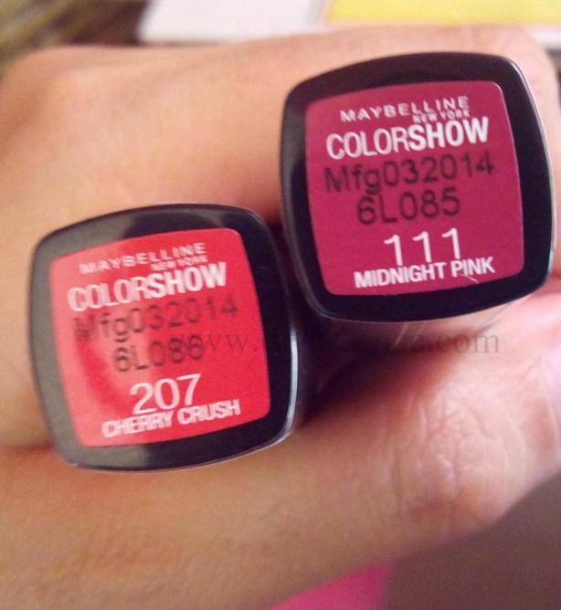 Maybelline Color Show Lipsticks (3)