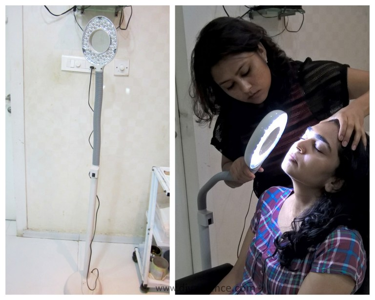 Radiant Bloom facial at Limelite Salon and Spa, Chamiers Road Chennai