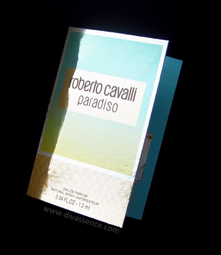 My Envy Box India 2015 Roberto Cavalli Paradiso Perfume