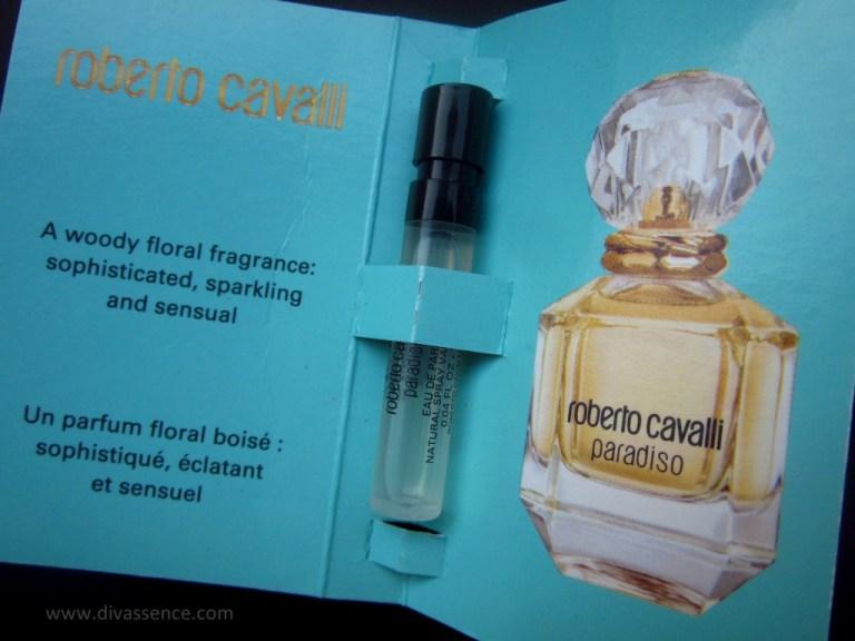 My Envy Box India 2015 Roberto Cavalli Paradiso Perfume Review