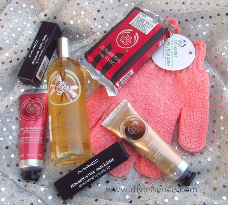 New Year 2016 Haul - The Body Shop and MAC