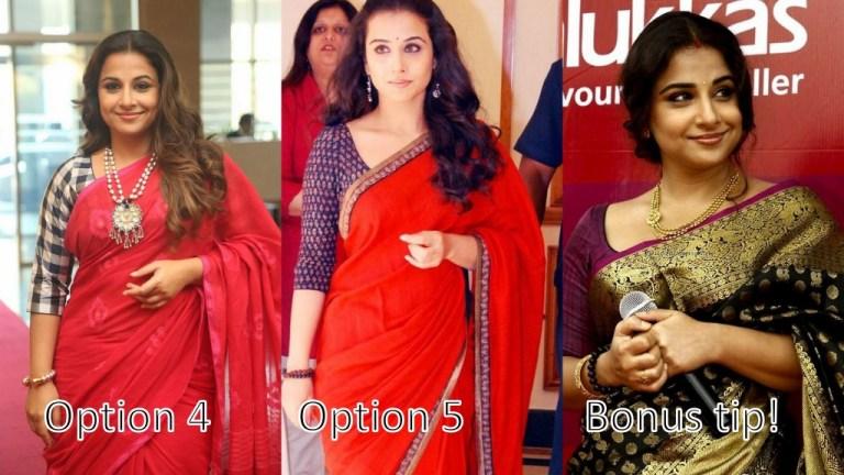 Vidya Balan saree, How to mix and match, best sarees in Chennai, beauty bloggers in India, Chennai beauty bloggers, Chennai fashion bloggers, Indian fashion