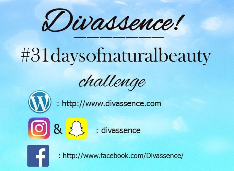divassence natural skincare challenge
